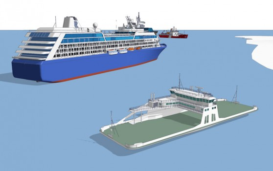Pano_Cruise ship